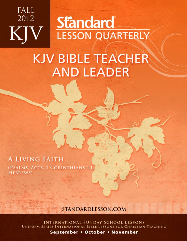 Bible christian lesson mature study