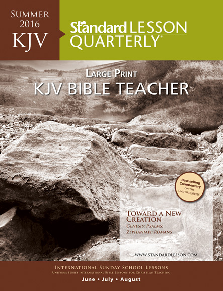 KJV Bible Teacher and Leader Large Print Edition