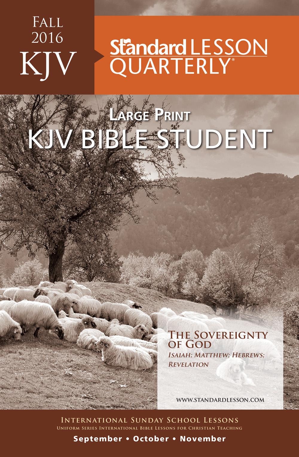 KJV Student Large Print Edition