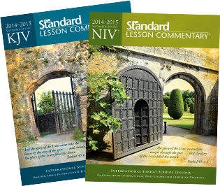 international sunday school lessions standard lesson commentary september august