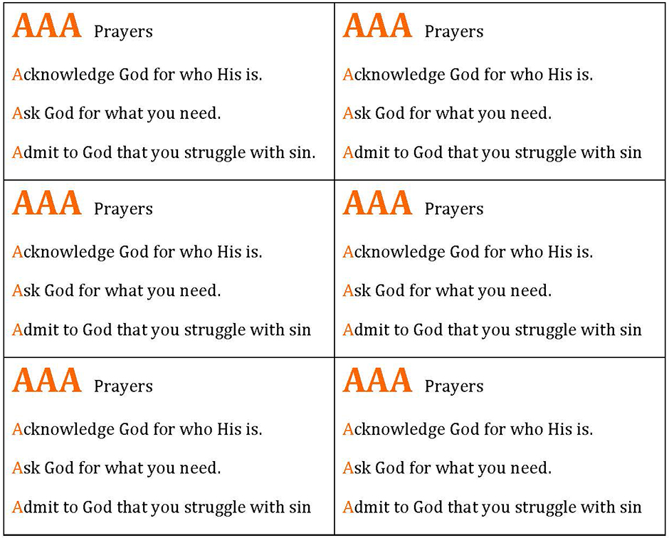 Aaa Prayers Acknowledge For Who His Is Ask What You Need Admit To That Struggle With Sin Ackn
